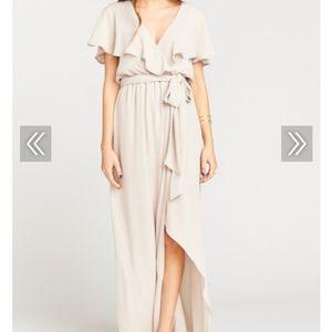 Show Me Your Mumu Audry Maxi Dress size medium